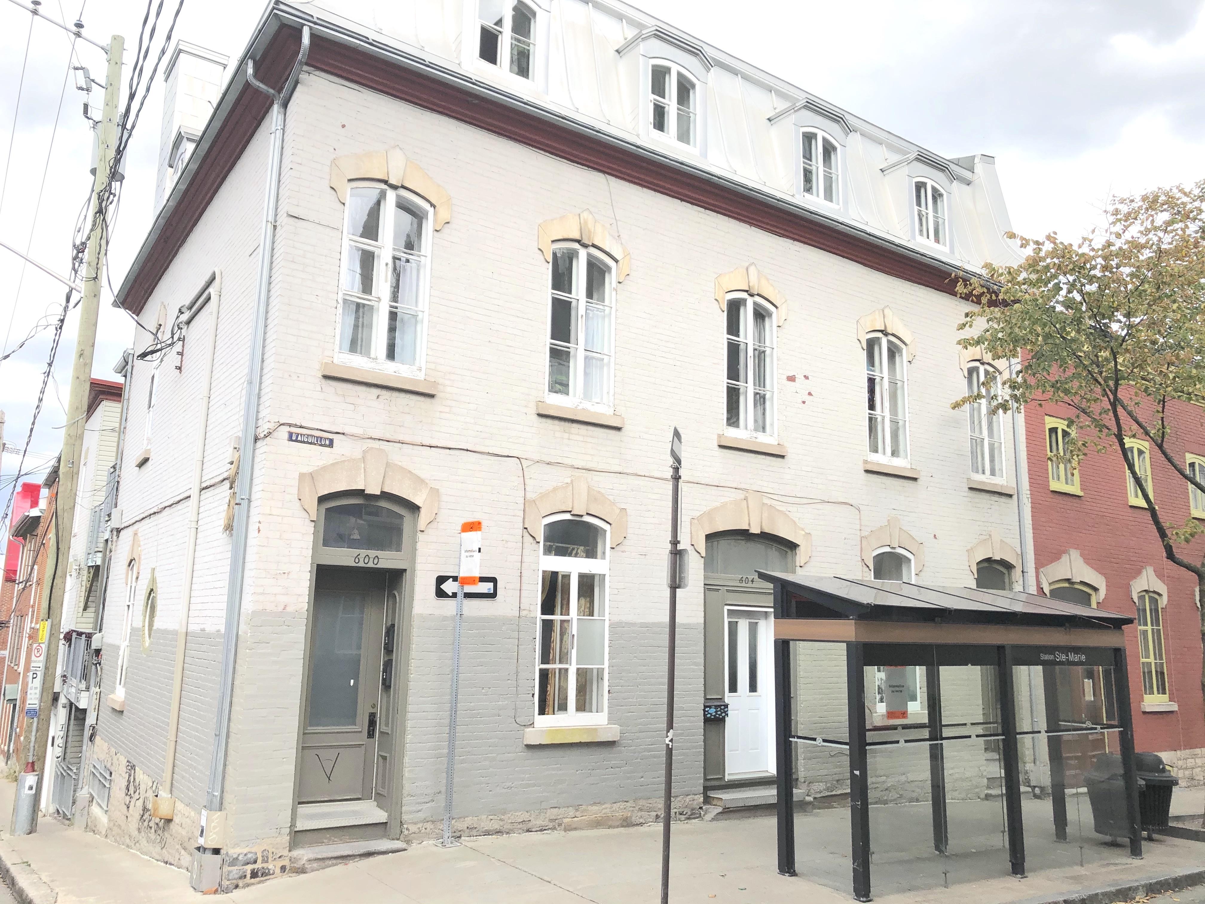 610, d'Aiguillon #1, Québec G1R 1M5